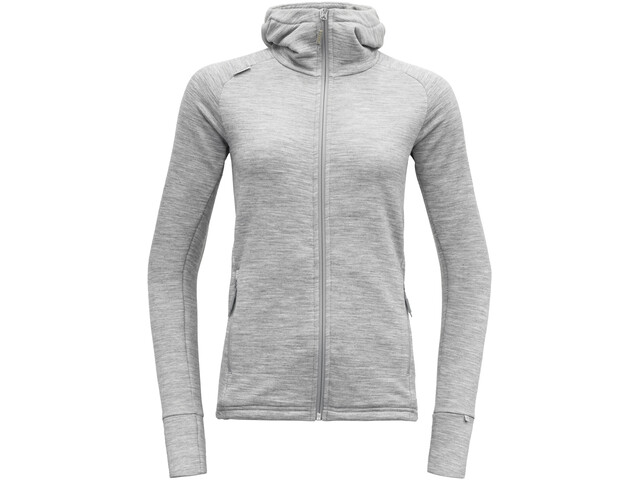 Devold Nibba Jacket Damen grey melange